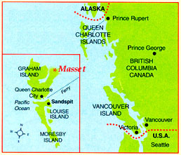 Q is for Queen Charlotte Islands